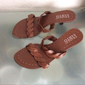 Franco Sarto Slide Flip Flop Sandals Sz 9 M